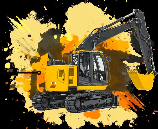 John Deere 225C LC RTS Excavator
